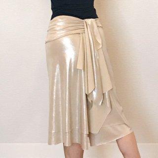 テイルドレープスカート GD