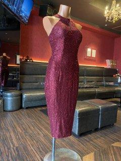 【エレガンシア 】赤 ブリリアントドレス|アルゼンチンタンゴ衣装&シューズ専門店 Elegancia