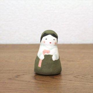 KIMURA & Co. チョゴリの女の子  緑