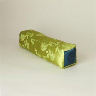 viincollection/サテン枕 スクエア 黄緑
