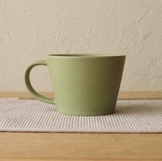 SAKUZAN / Sara コーヒーカップ モスグリーン