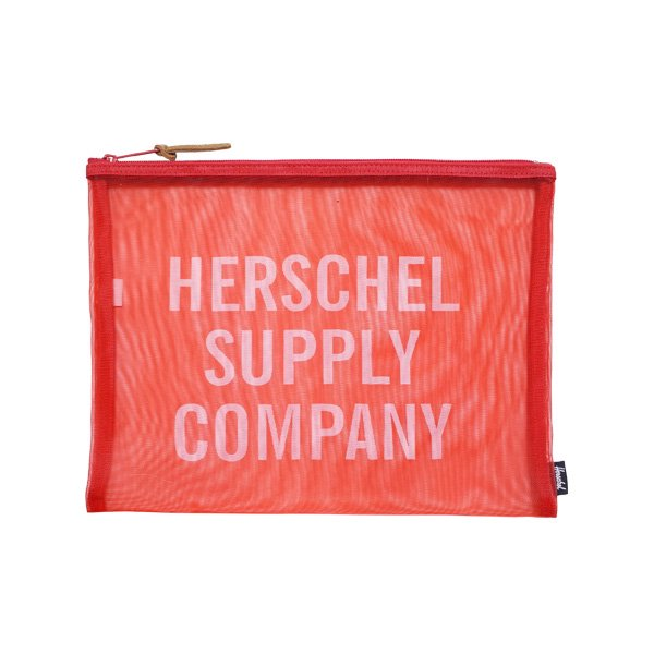 <img class='new_mark_img1' src='https://img.shop-pro.jp/img/new/icons20.gif' style='border:none;display:inline;margin:0px;padding:0px;width:auto;' />HERSCHEL SUPPLY NETWORK MESH POUCH EXTRA LARGE / ハーシェルサプライ ネットワーク メッシュポーチ
