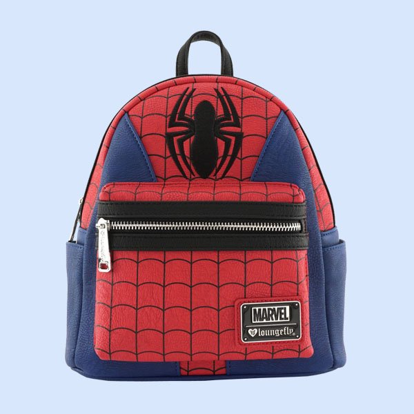LOUNGEFLY × MARVEL SPIDER-MAN SUIT MINI FAUX LEATHER BACKPACK / ラウンジフライ マーベル バックパック