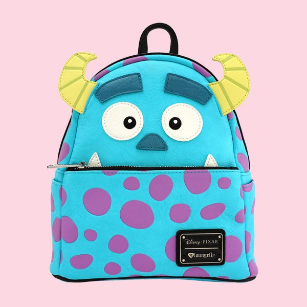 LOUNGEFLY × DISNEY MONSTERS INC. SULLY MINI FAUX LEATHER BACKPACK / ラウンジフライ ディズニー バックパック