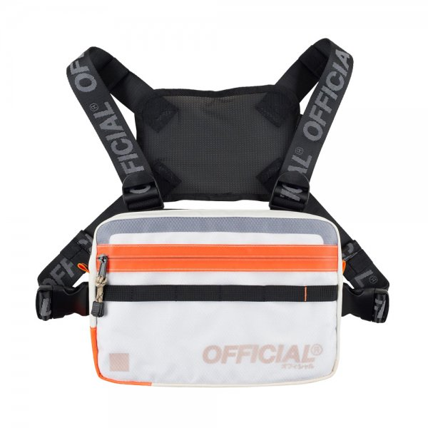 OFFICIAL VAPOUR CHEST UTILITY BAG [ CLOUD WHITE ] / オフィシャル チェストバッグ