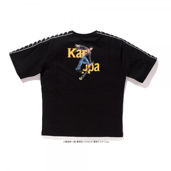 KAPPA × ONE PIECE LAW TEE [ BLACK ] / カッパ  ワンピース Tシャツ