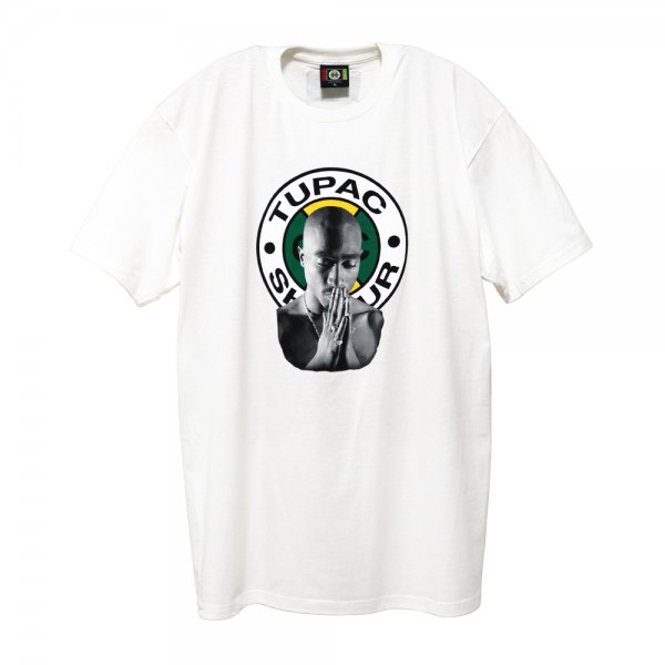 CROSS COLOURS 2PAC GRAPHIC T-SHIRT [ WHITE ] / クロスカラーズ Tシャツ