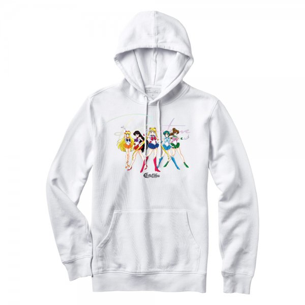 PRIMITIVE × SAILOR MOON GINZA SCOUTS HOOD [ WHITE ] / プリミティブ セーラームーン パーカー