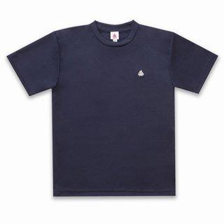 うんこドライTシャツ メトロブルーxシルバー