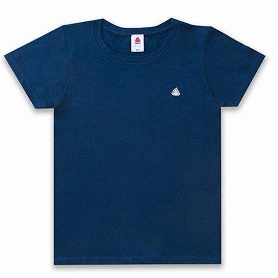 うんこレディースTシャツ インディコxホワイト