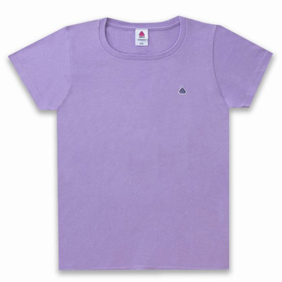 うんこレディースTシャツ ラベンダーxラベンダー