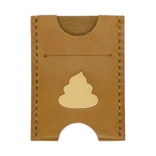 うんこ革製カードケース