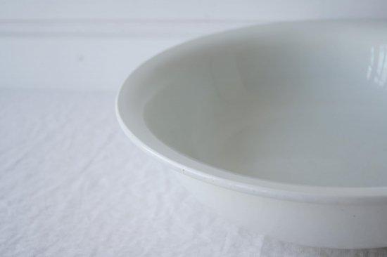 白釉の深皿大