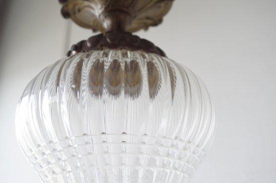 ガラスのランプシェード