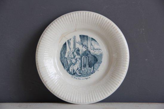 陶器の絵皿C