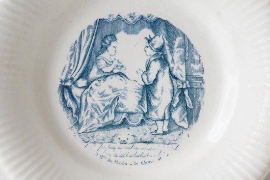 陶器の絵皿E