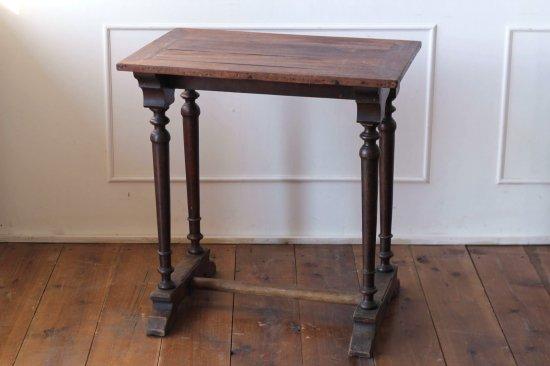 木製ビストロテーブルB