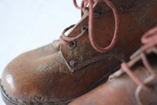 子供用革製ブーツ