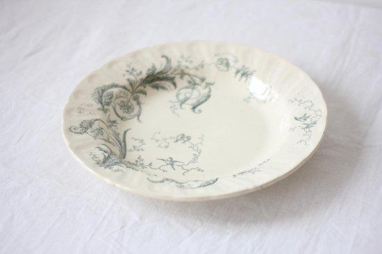 GIEN 小鳥と草花のスープ皿B