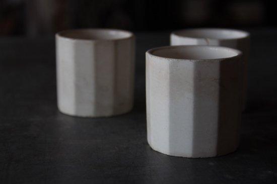 面取陶製カップA