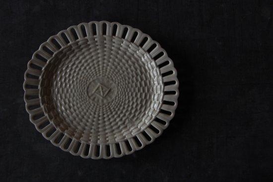 楕円のパニエ皿C