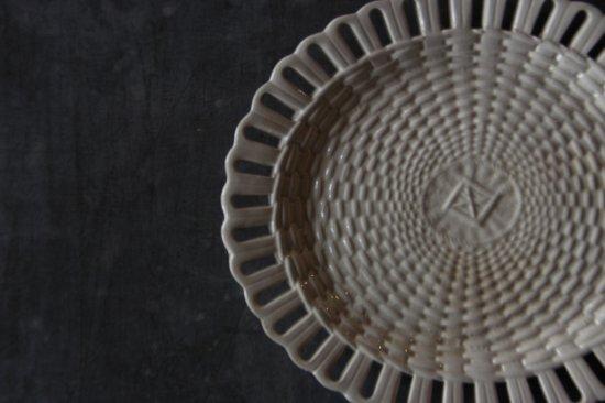 楕円のパニエ皿D