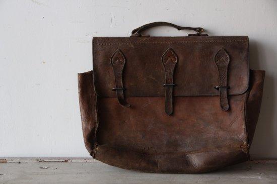 アンティーク 革製鞄