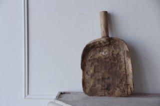 木製スクープ/塵取り