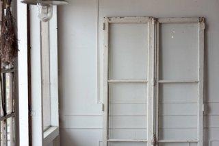 白ペイントのグレモン錠窓/ドア