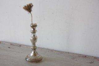 水銀ガラスのキャンドルスタンド/燭台A