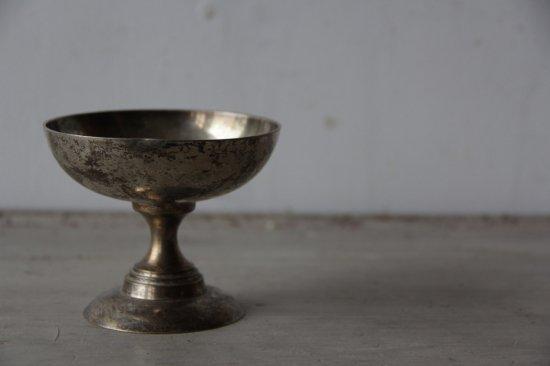 シルバープレートのデザートカップ中A