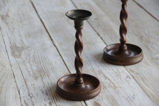 木製キャンドルスタンド/燭台A