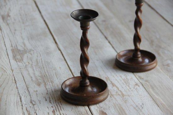 木製キャンドルスタンド/燭台B