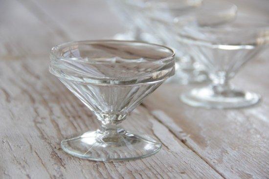 ガラスのアイスクリームカップ[在庫1]