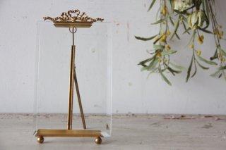真鍮装飾のガラスフレームA