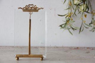 真鍮装飾のガラスフレームB