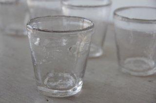 古ガラスの歪なカップ[在庫1]