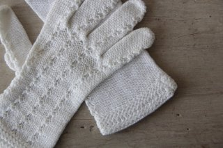 アンティーク 布製手袋/グローブC