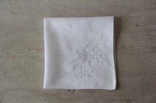 アンティーク刺繍ハンカチB