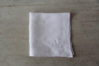 アンティーク刺繍ハンカチC
