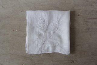 アンティーク刺繍ハンカチD