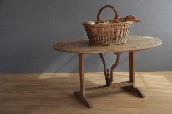 ラウンド木製折り畳みテーブル