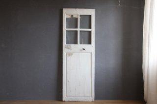 フランスアンティーク ガラス入りの小さめの室内ドア
