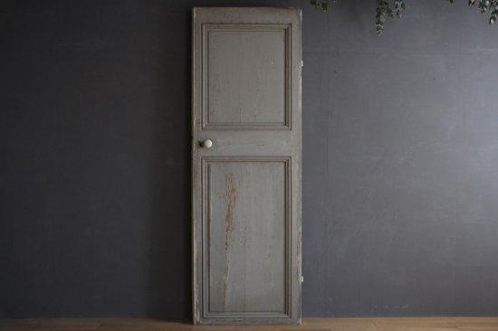 フランスアンティーク ブルーグレーと白の室内ドア