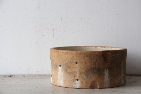 チーズ用水切り/穴あき陶器A