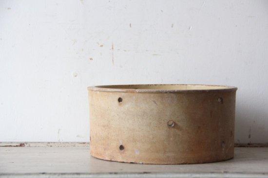チーズ用水切り/穴あき陶器B