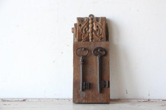 木製のキーフックA