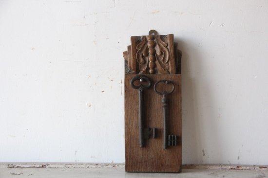 木製のキーフックB