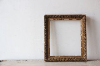 フランスアンティーク  古い装飾木製フレーム
