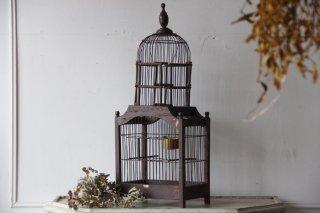 木製 アンティークバードケージ 鳥かご